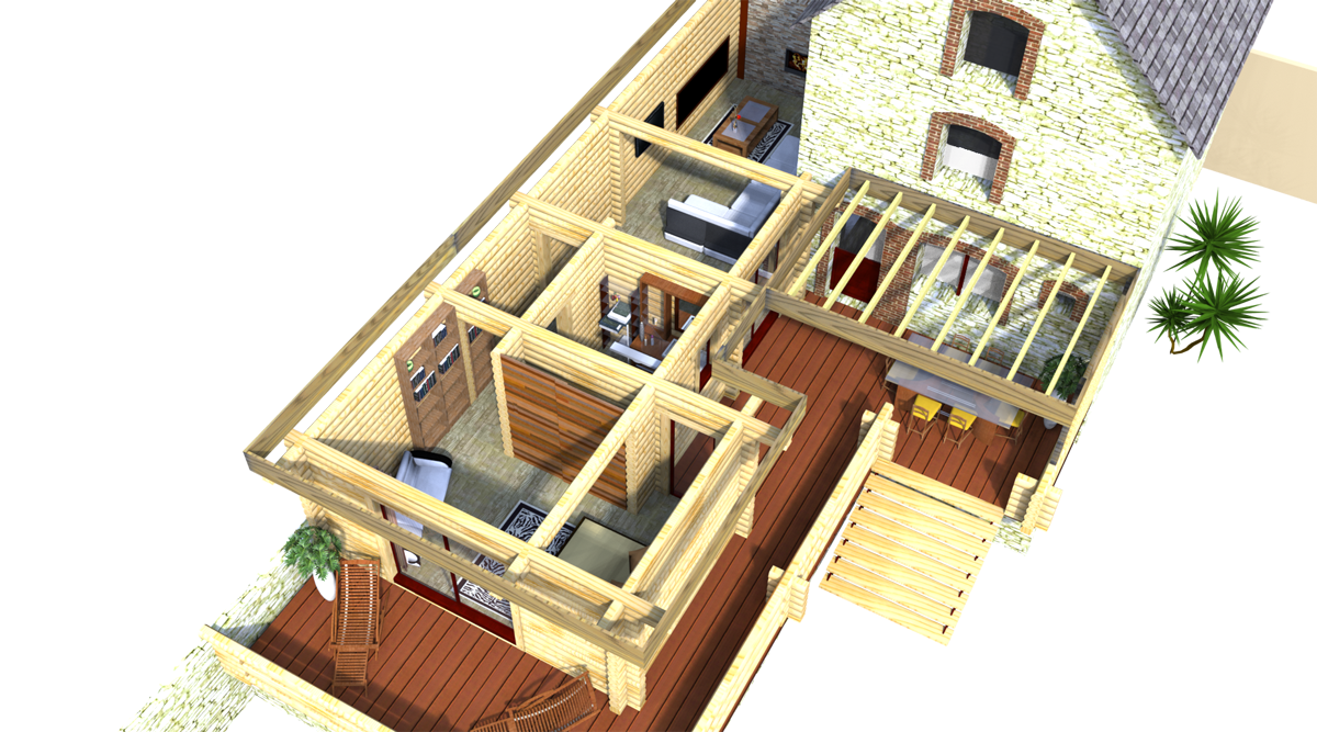 agrandissement. Black Bedroom Furniture Sets. Home Design Ideas
